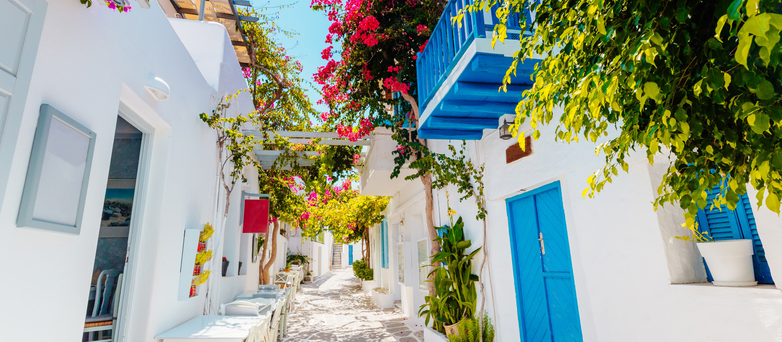 Destination Paros Greece