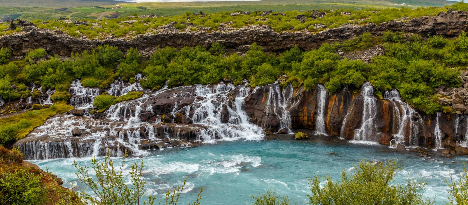 Destination Húsafell Iceland