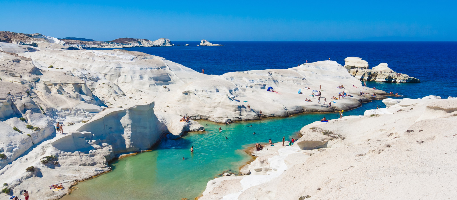 Destination Milos Greece