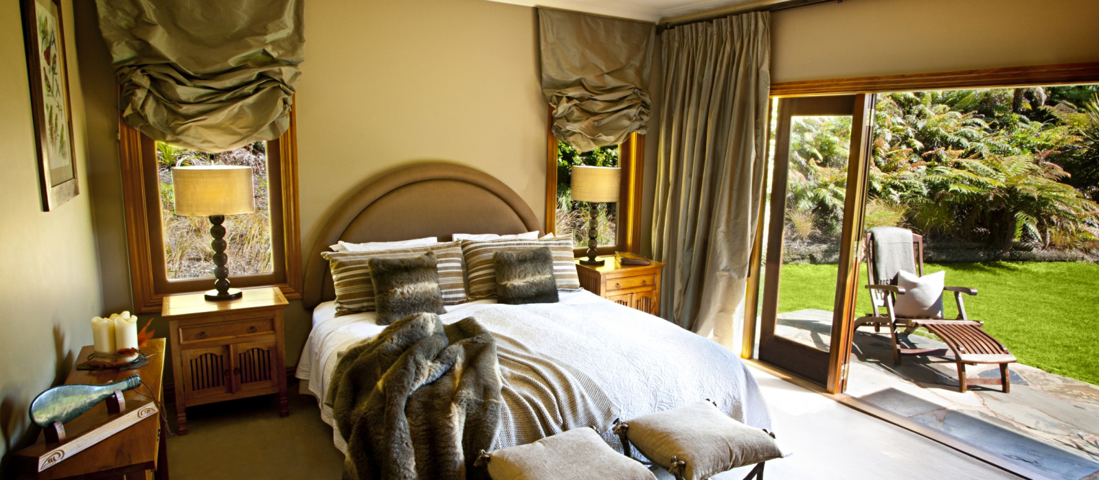 Hotel Treetops Lodge Neuseeland