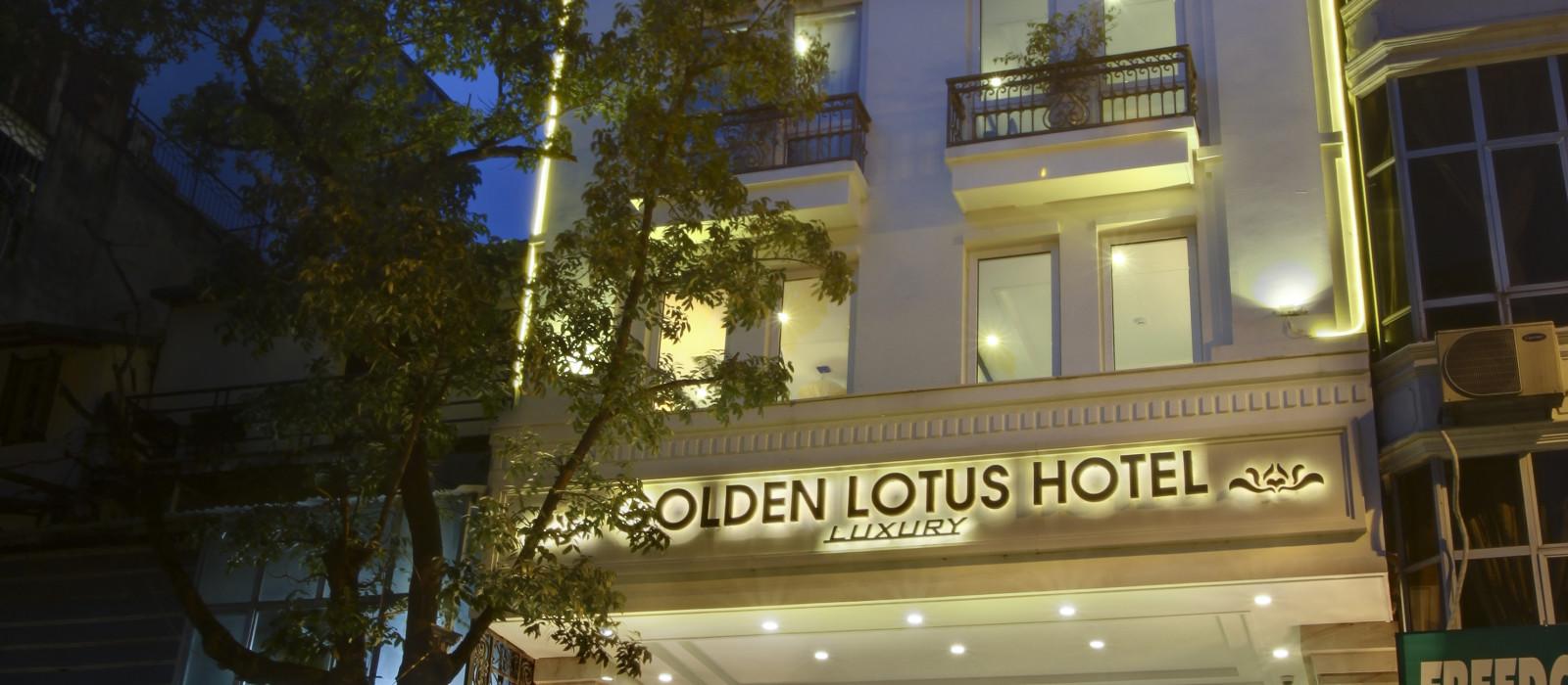 Hotel Golden Lotus Luxury Hanoi Vietnam