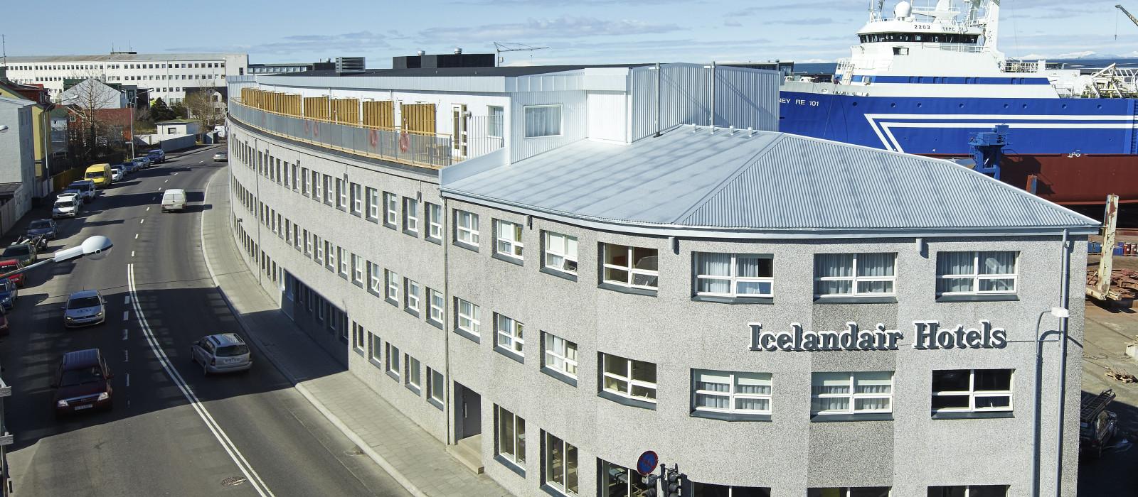 Hotel Icelandair  Reykjavik Marina Island