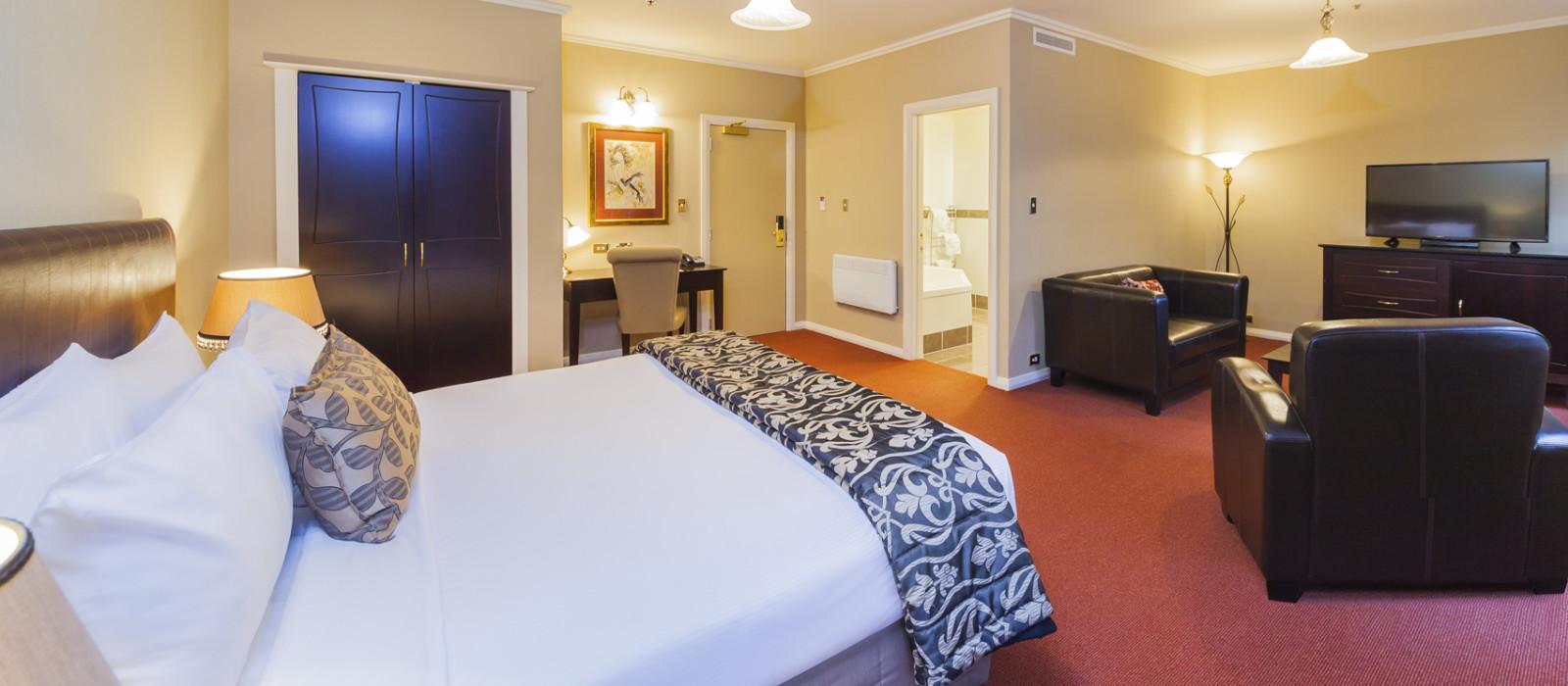 Hotel Chateau Tongariro  New Zealand