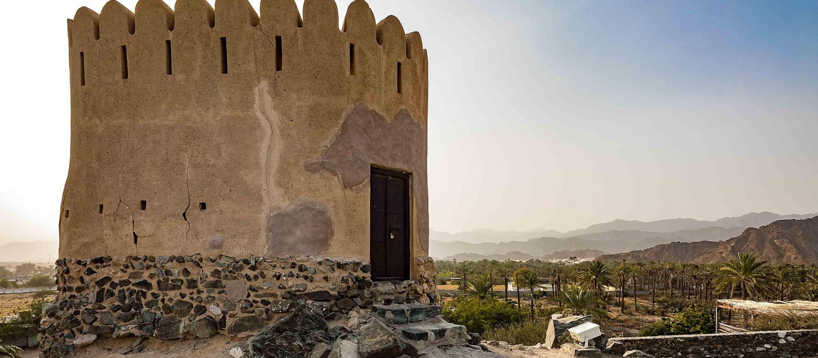 Reiseziel Fujairah Vereinigte Arabische Emirate