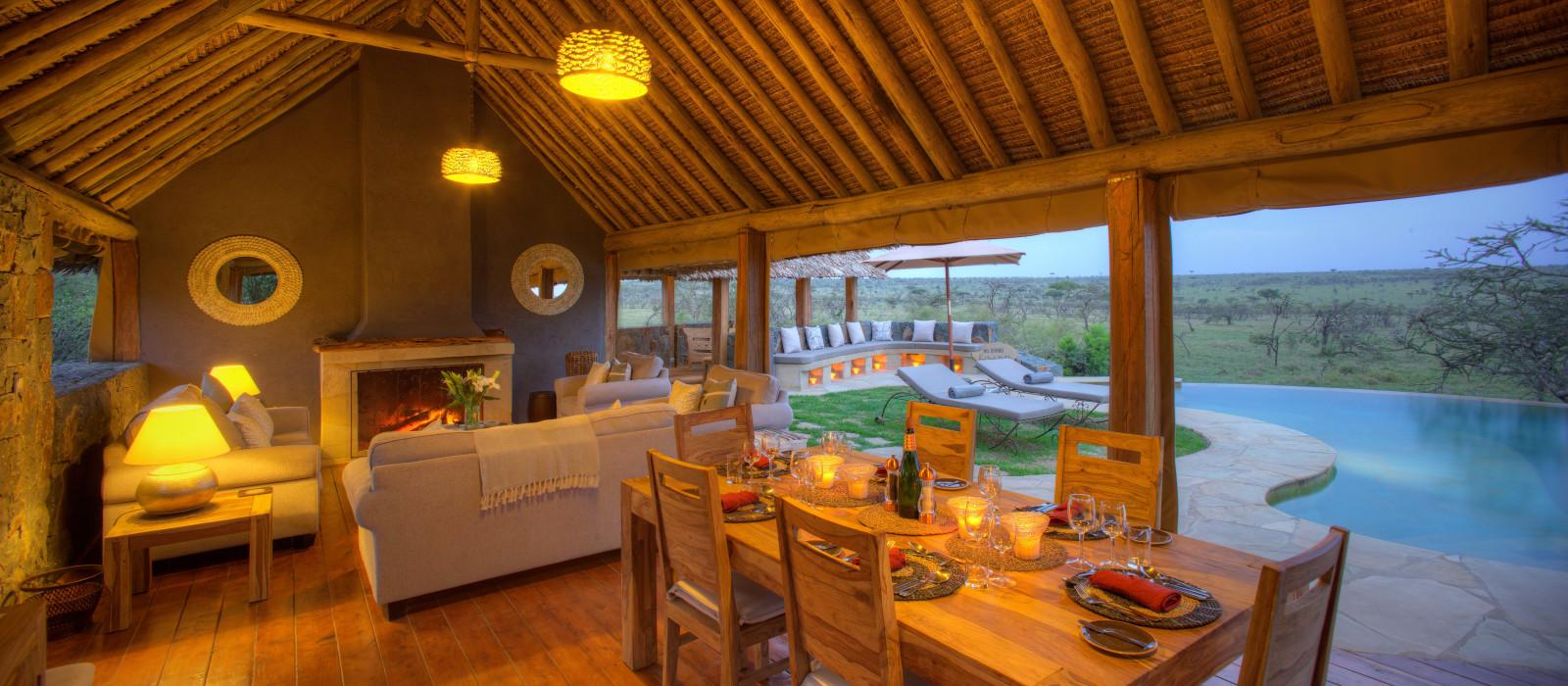 Hotel Naboisho Camp Kenia