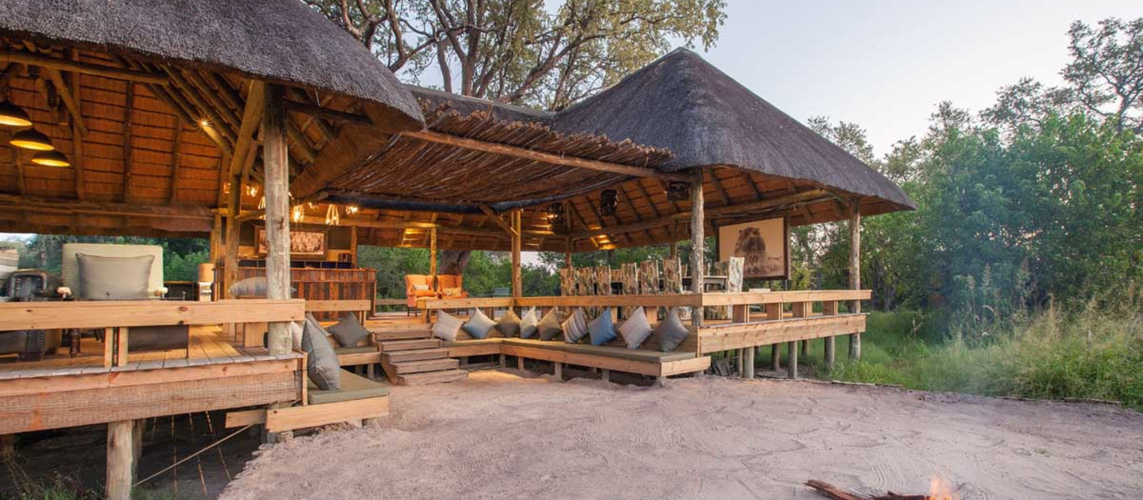 Hotel The Jackal and Hide Botswana