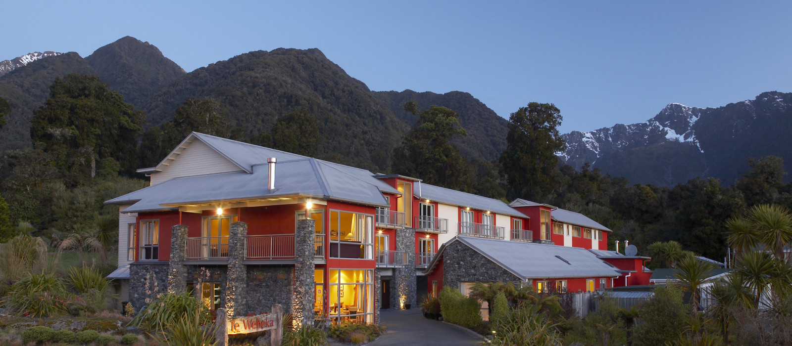 Hotel Distinction  Fox Glacier Neuseeland