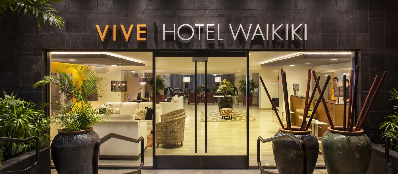 Hotel Vive  Waikiki Hawaii