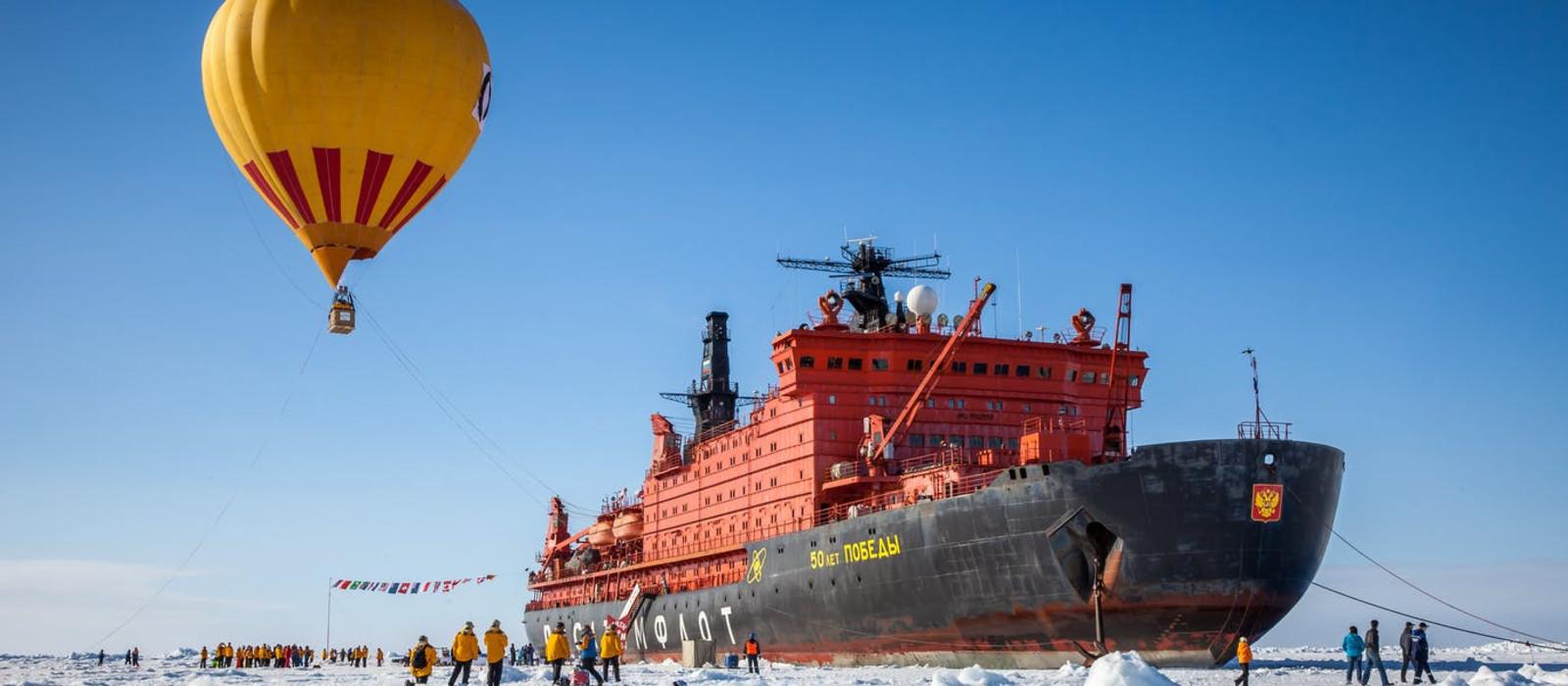 Hotel 50 Years of Victory Arktis