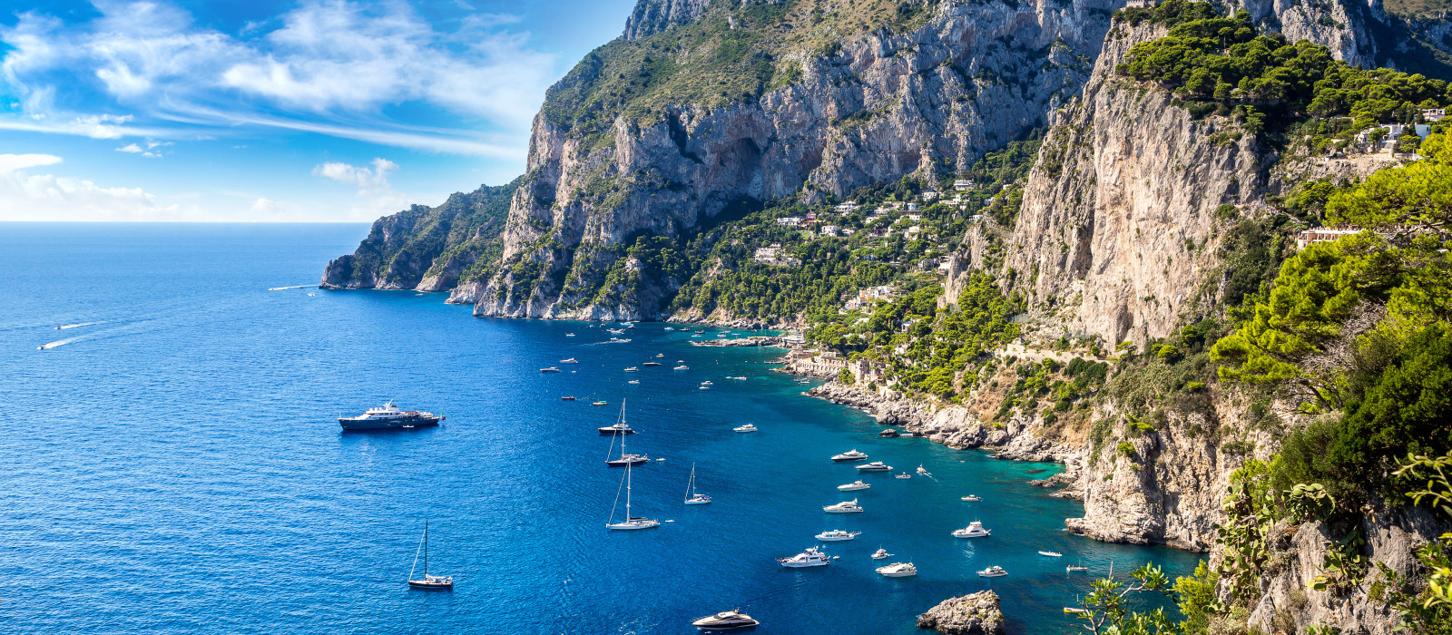 Reiseziel Capri Italien