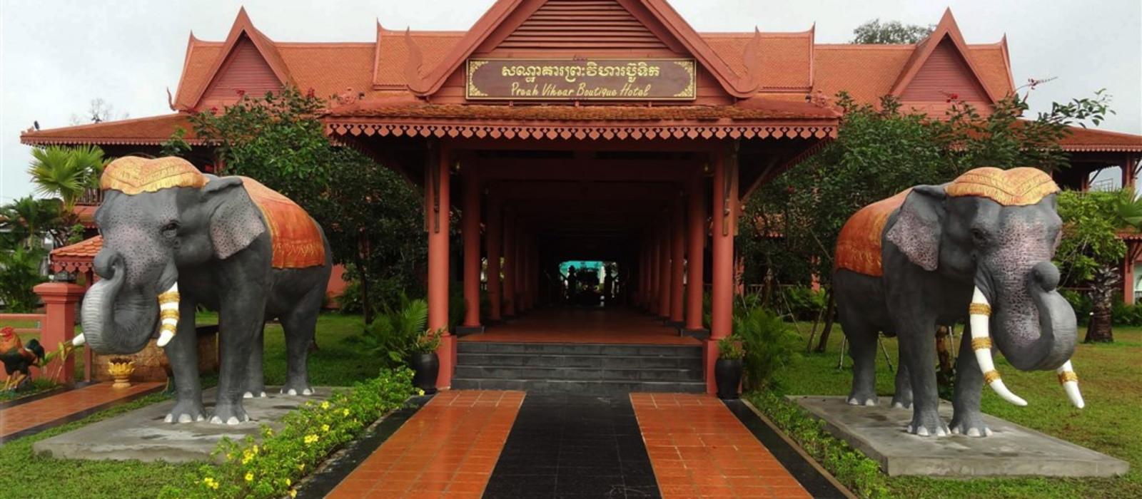 Hotel Preah Vihear Boutique  Cambodia