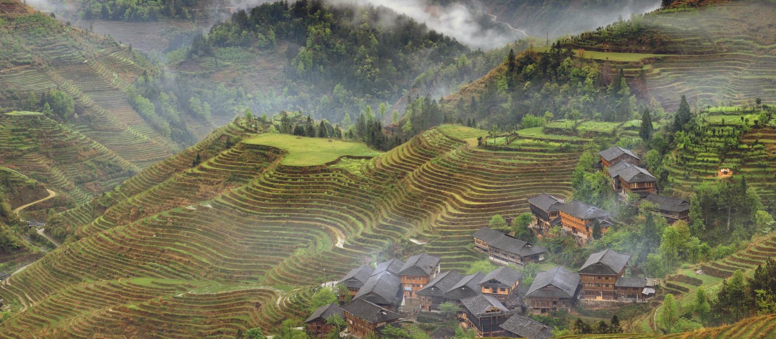 Reiseziel Longsheng China