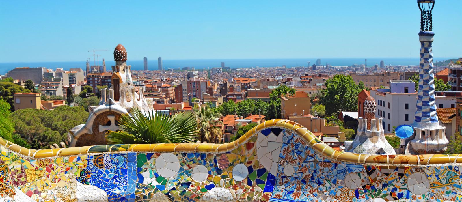 Reiseziel Barcelona Spanien