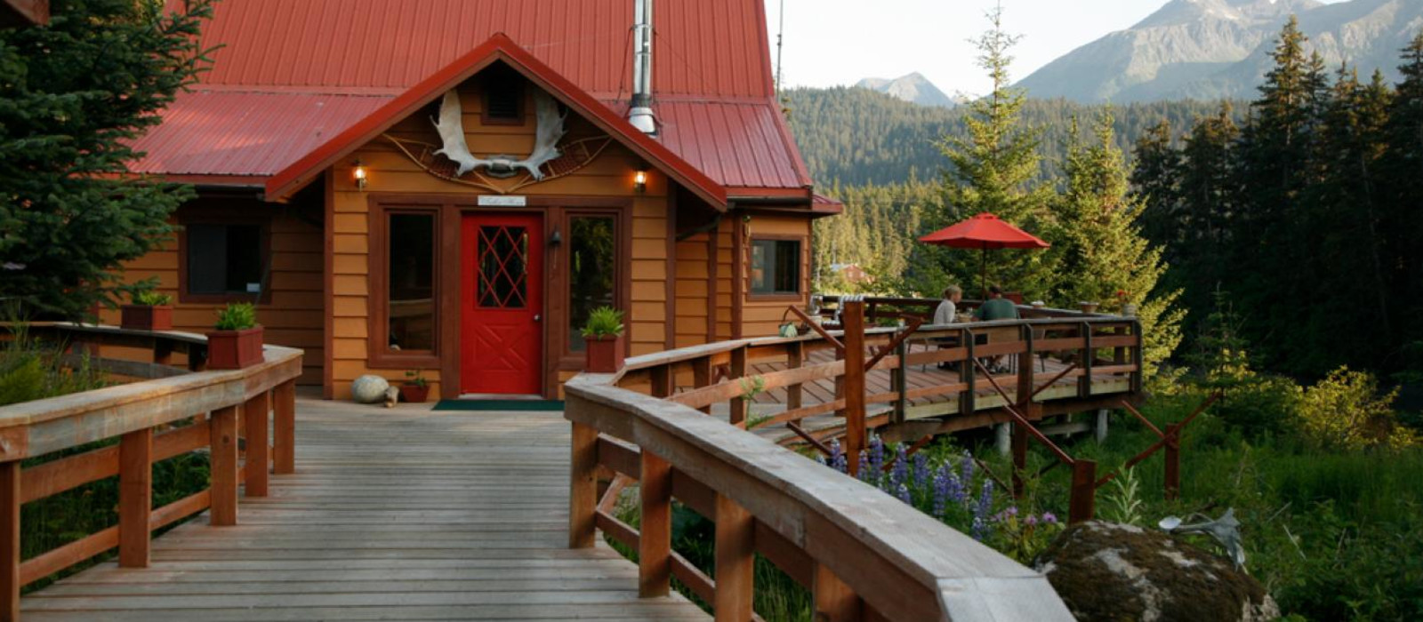 Hotel Tutka Bay Lodge Alaska