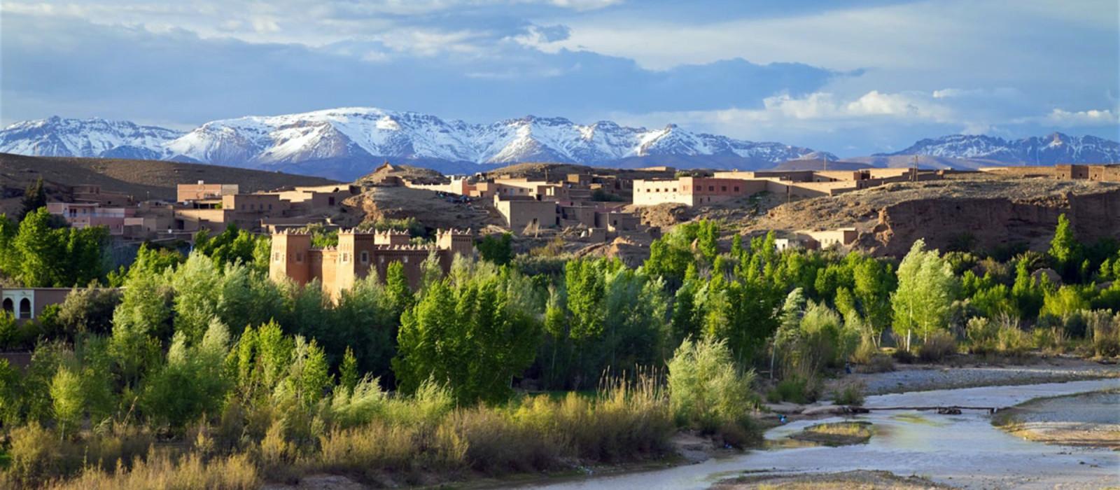 Reiseziel Boumalne Dades Marokko