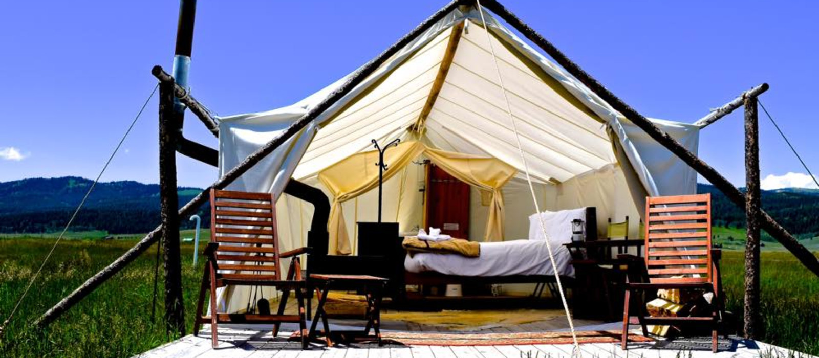 Hotel Under Canvas Yellowstone USA