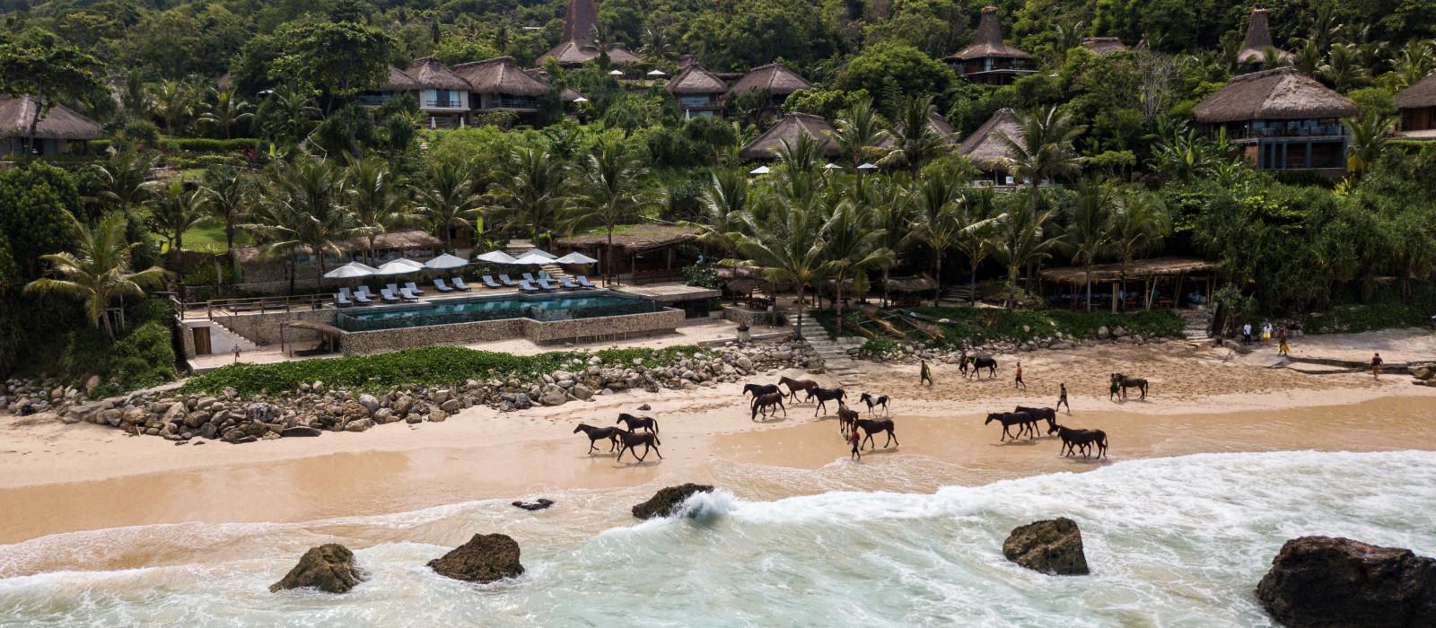 Reiseziel Sumba, Nihi Strand Indonesien