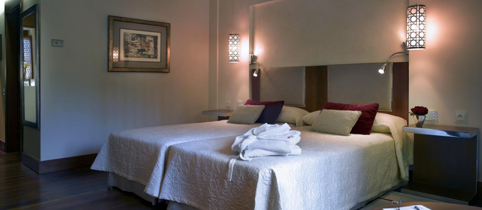 Hotel Parador de Granada: Convent of San Francisco Spain