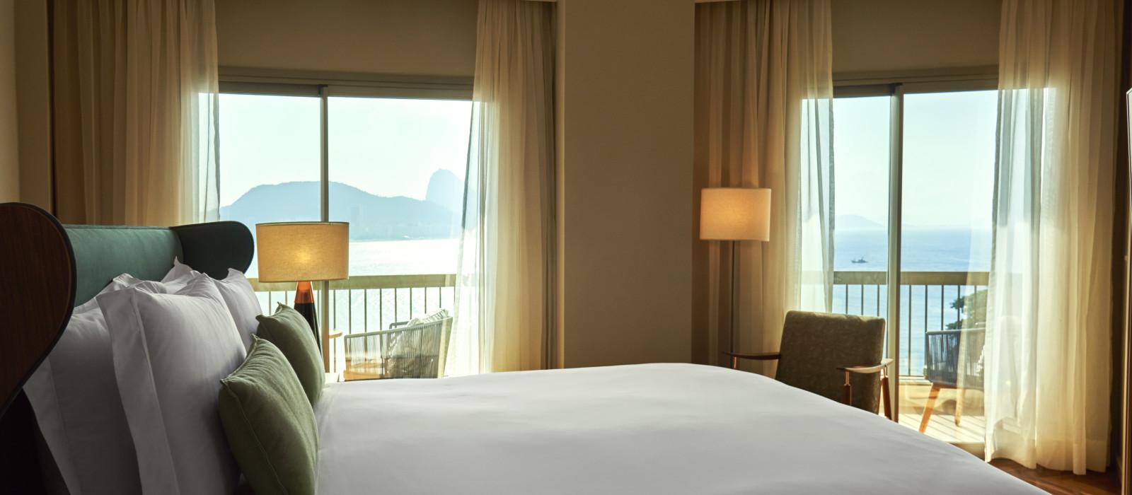 Hotel Fairmont Rio de Janeiro Copacabana Brasilien
