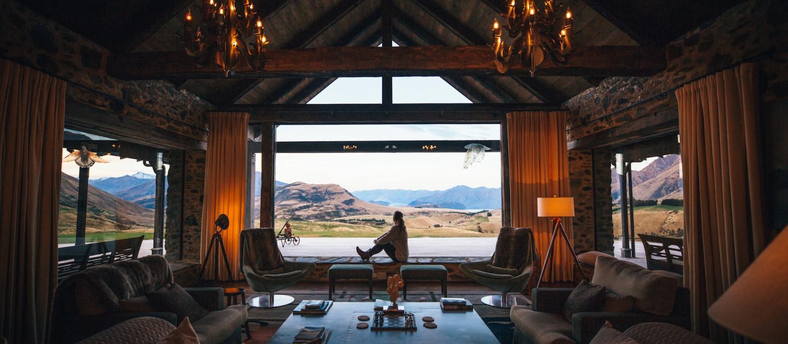 Hotel Mahu Whenua Neuseeland