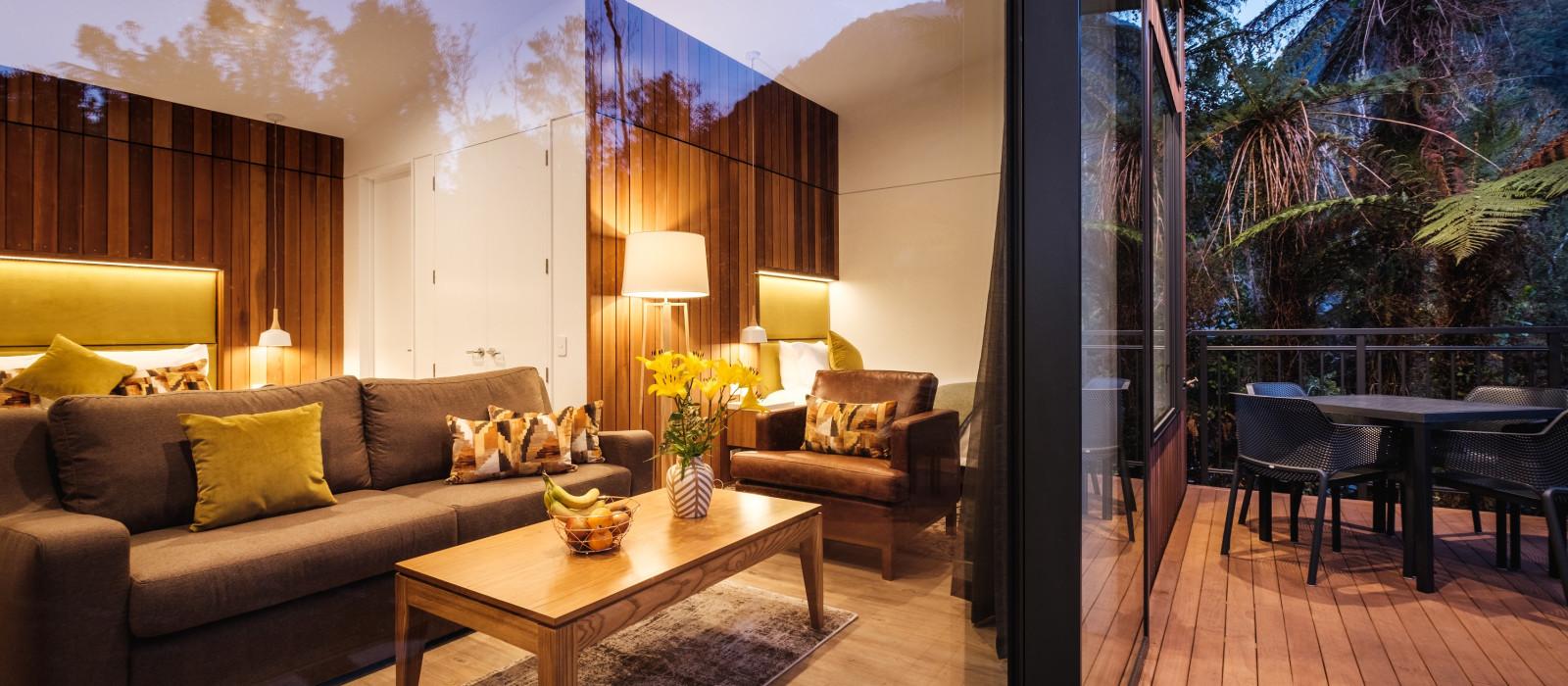 Hotel Rainforest Retreat Franz Josef Neuseeland