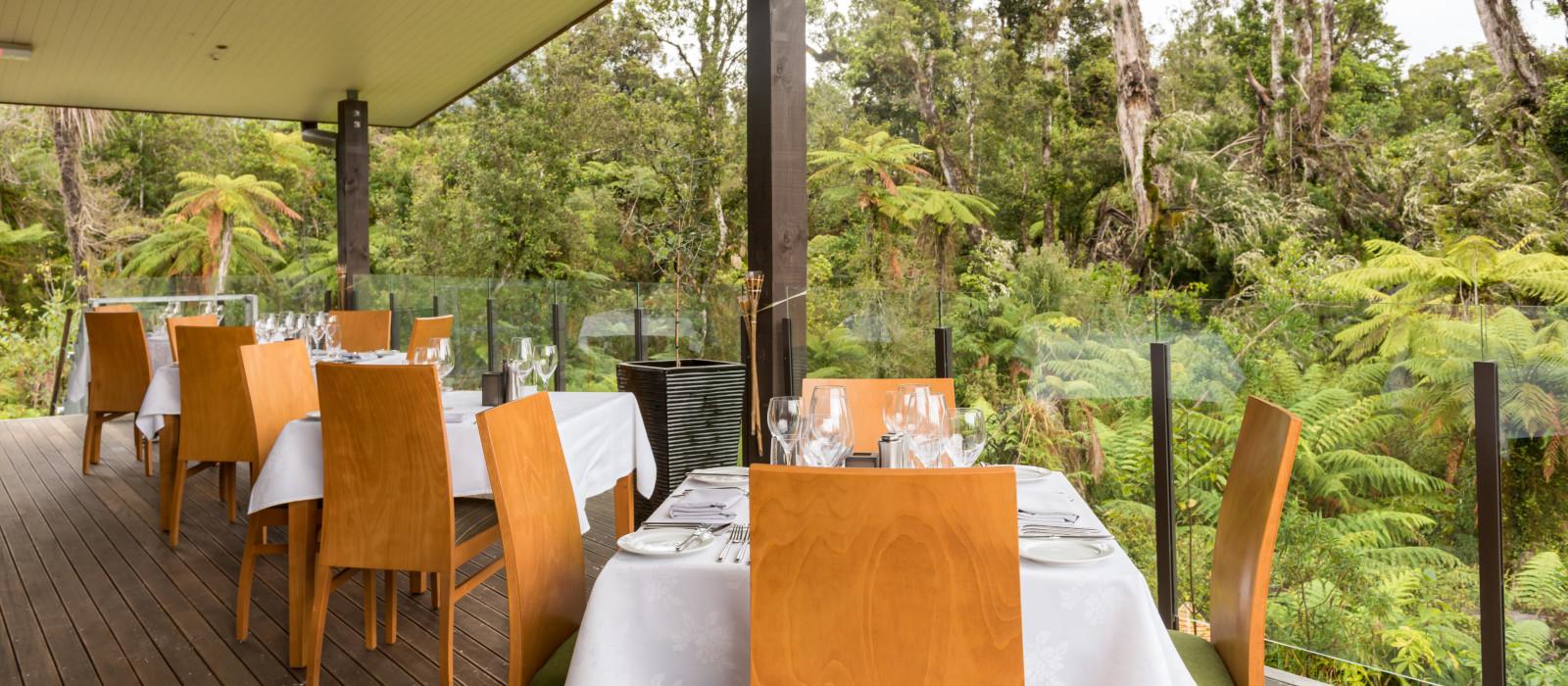 Hotel Te Waonui Forest Retreat Neuseeland
