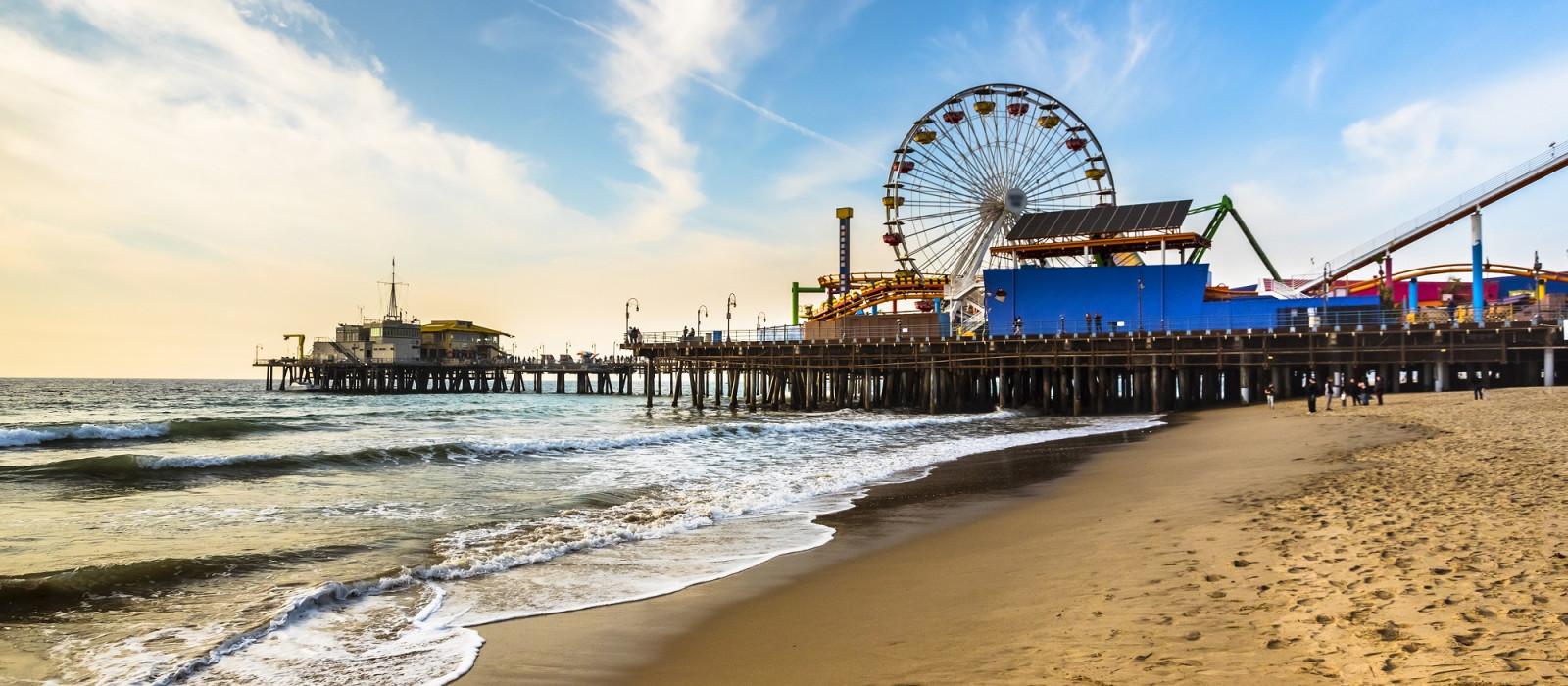 Reiseziel Santa Monica USA