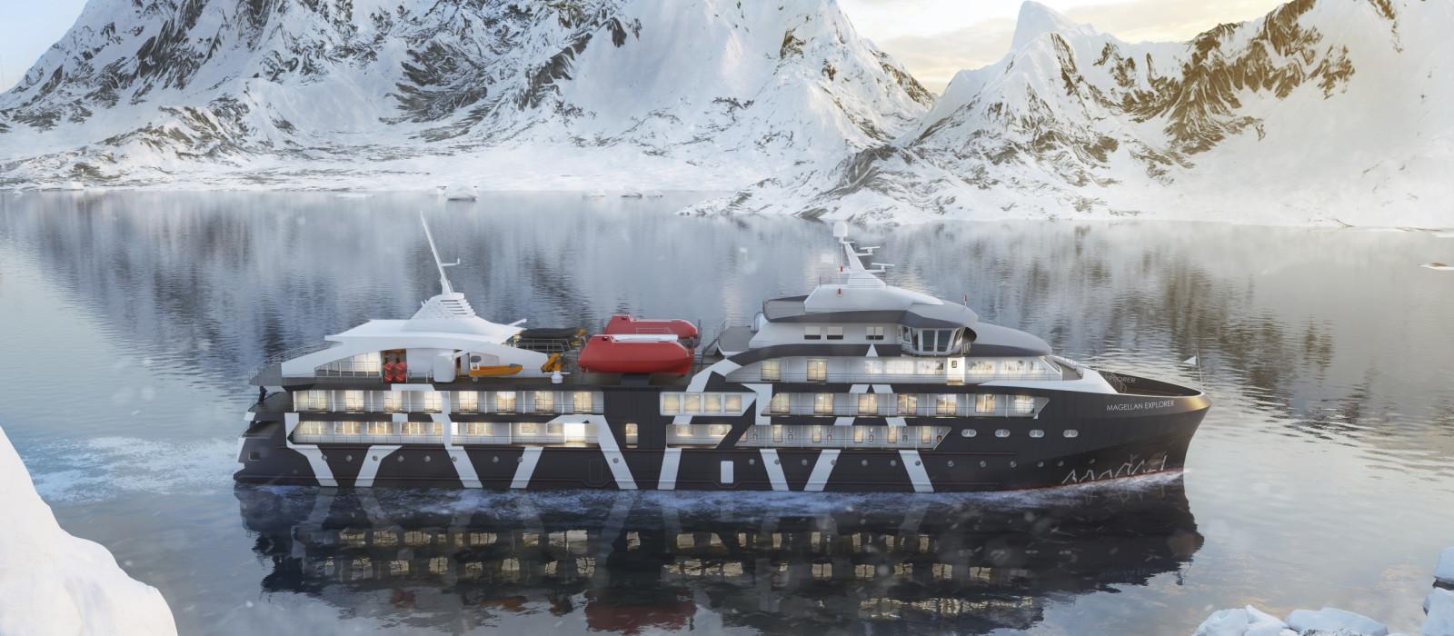 Hotel Magellan Explorer Antarktis