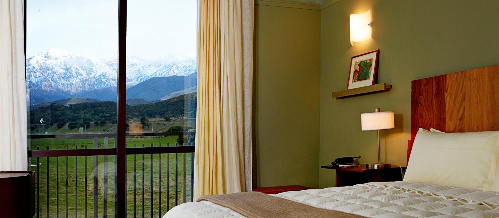 Hotel Hapuku Lodge + Tree Houses New Zealand