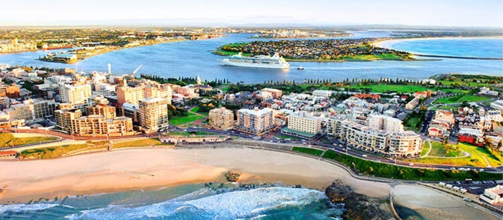 Reiseziel Newcastle Australien
