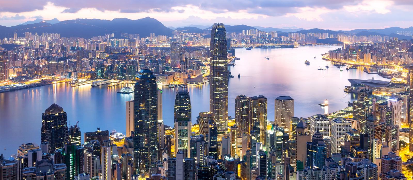 Destination Hong Kong China