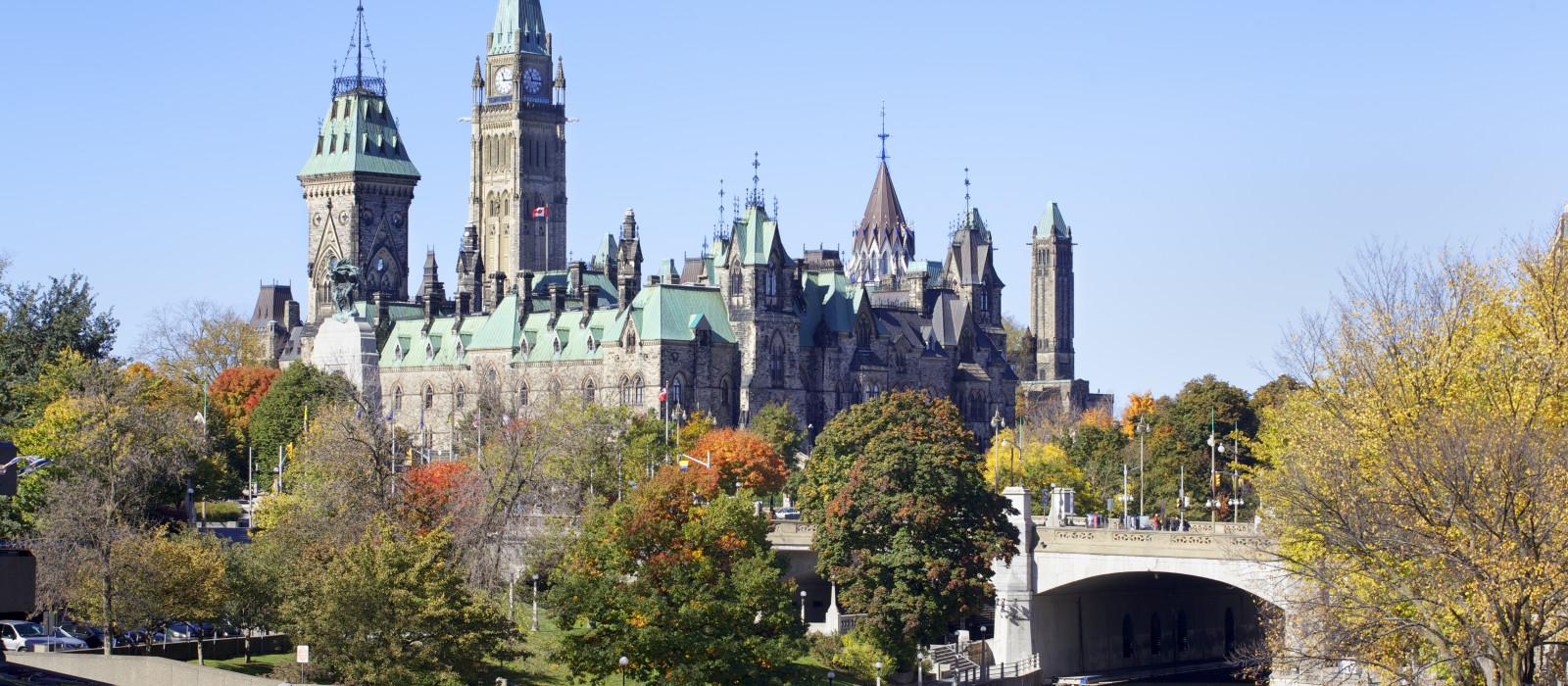 Reiseziel Ottawa Kanada