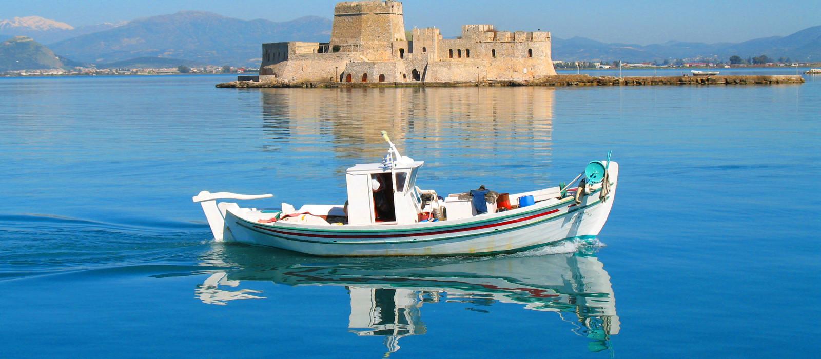 Reiseziel Nafplio Griechenland