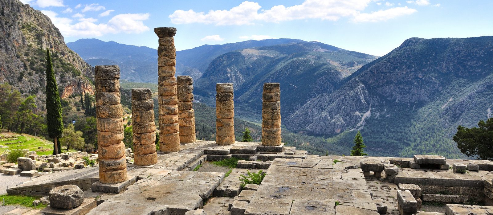 Reiseziel Delphi Griechenland
