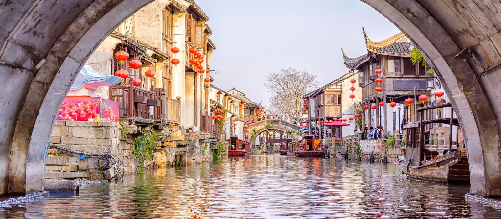 Reiseziel Suzhou China