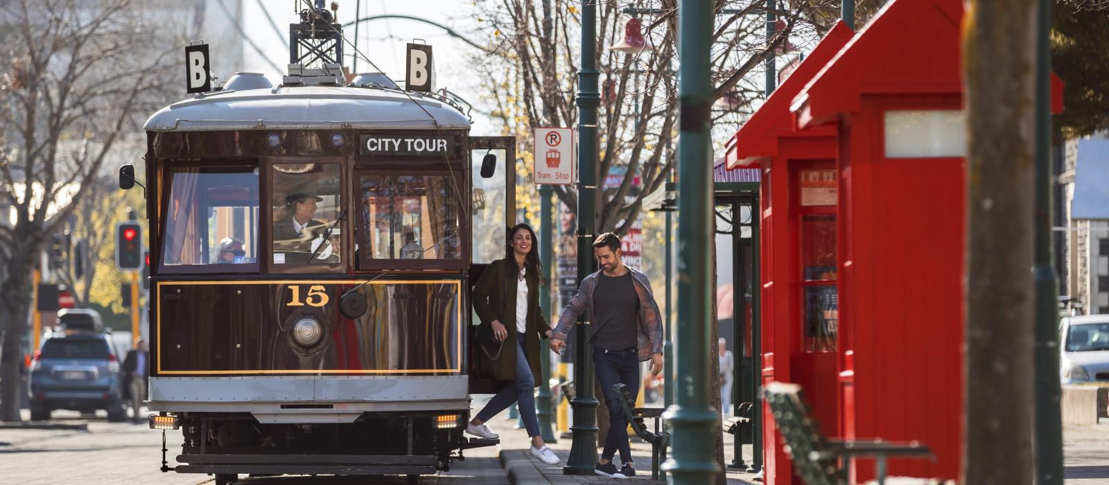 Reiseziel Christchurch Neuseeland
