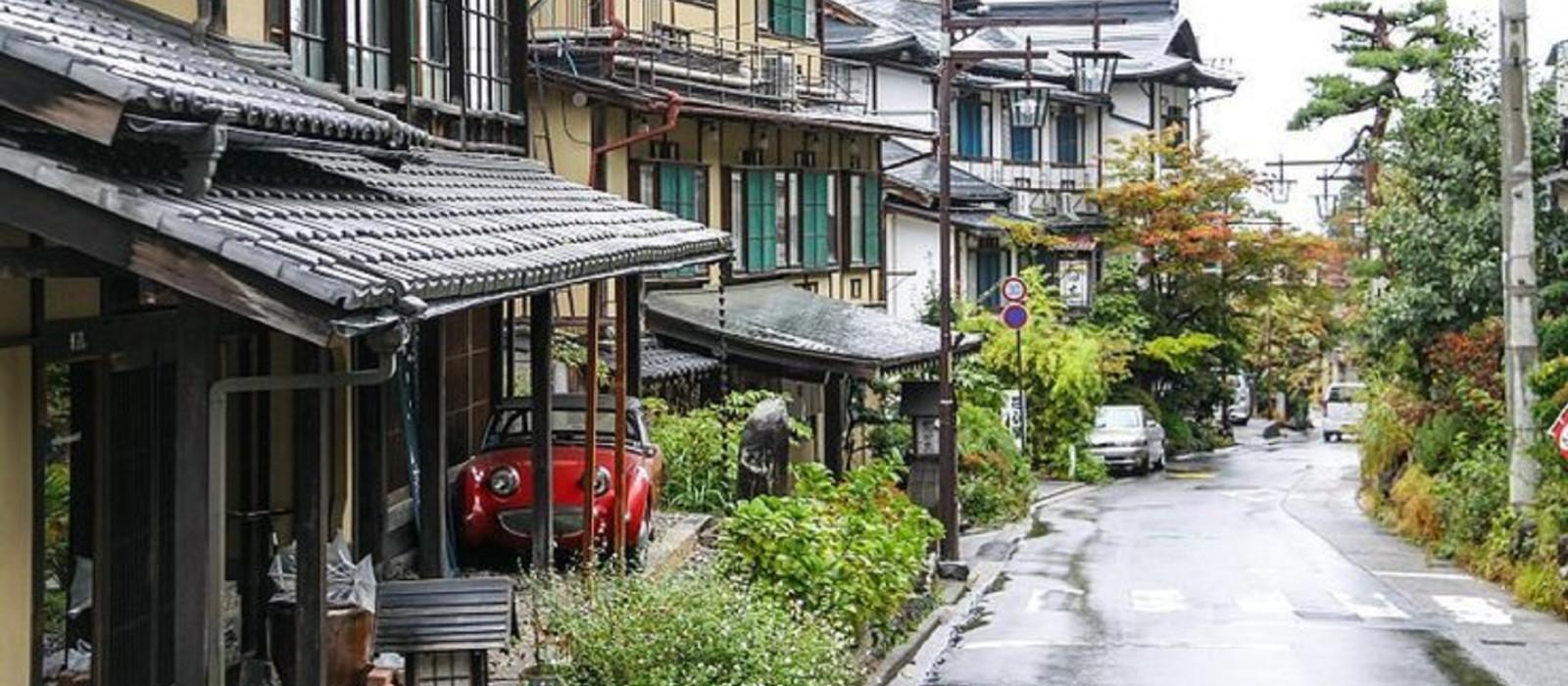Destination Yudanaka Onsen Japan