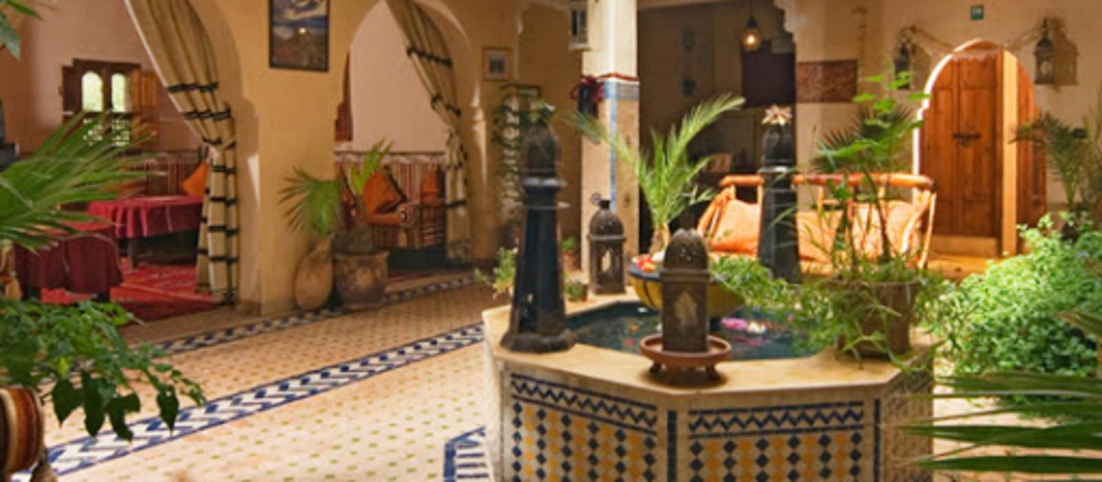 Hotel Dar Imlil Marokko