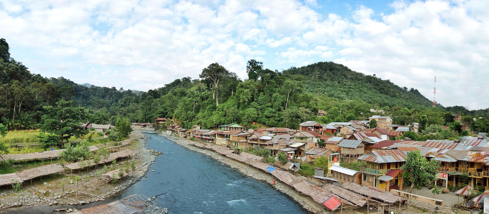 Hotel The Heritage Resort & Restaurant Bukit Lawang Indonesien