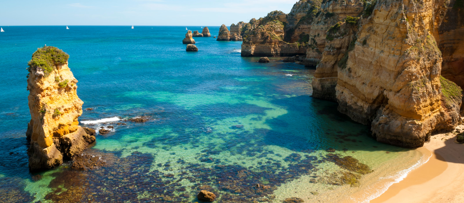 Reiseziel Algarve Portugal