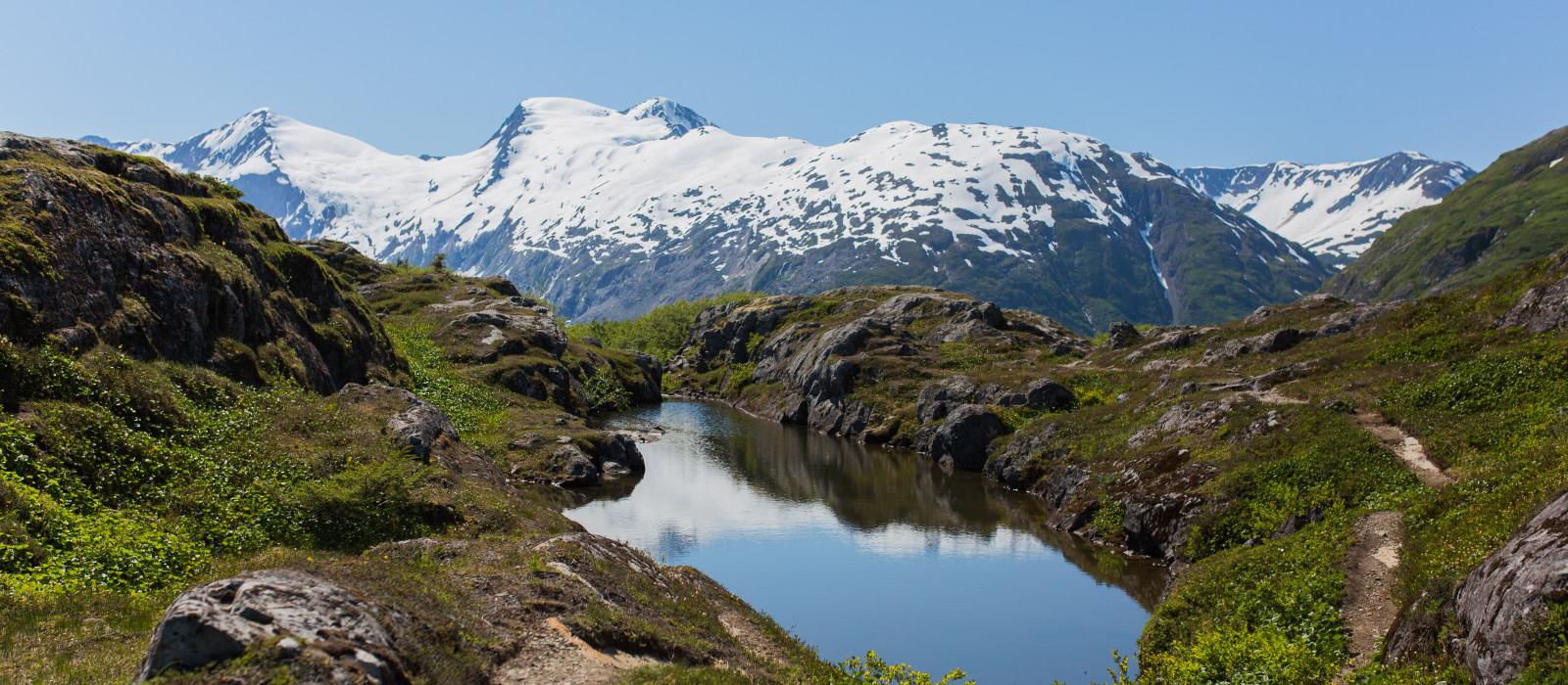 Reiseziel Whittier Alaska