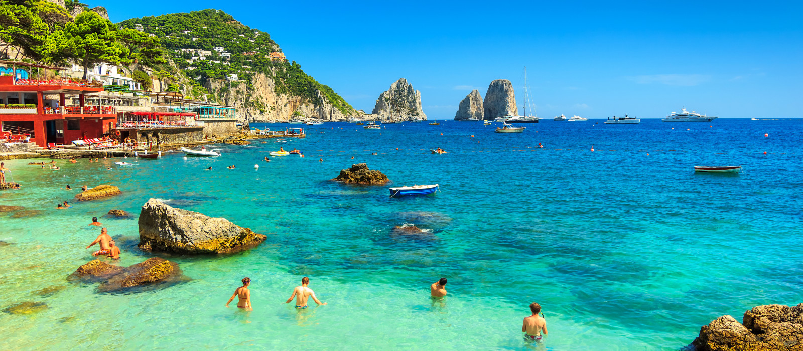 Destination Capri Italy