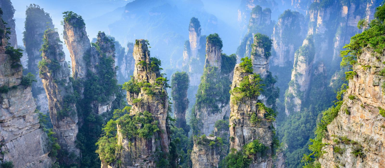 Reiseziel Zhangjiajie China