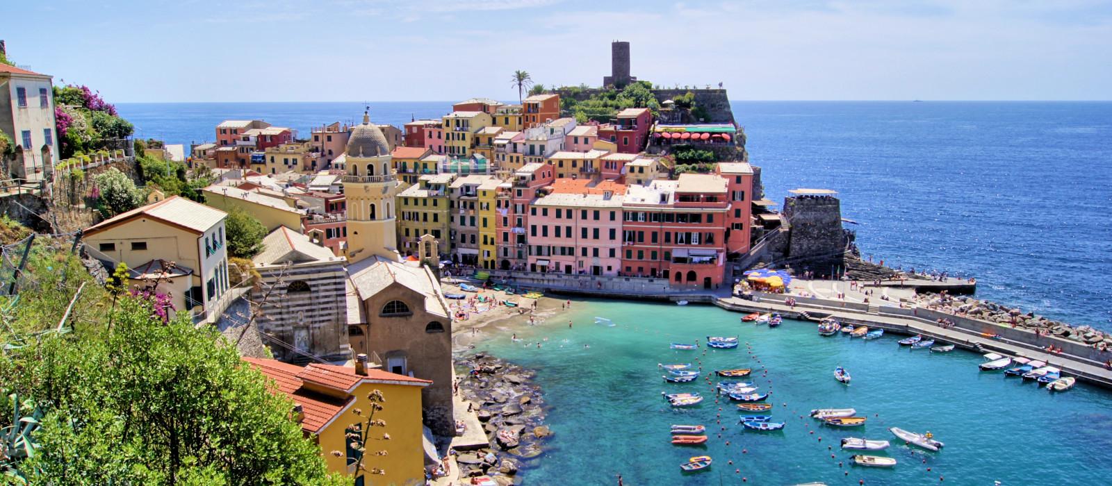 Destination Cinque Terre Italy