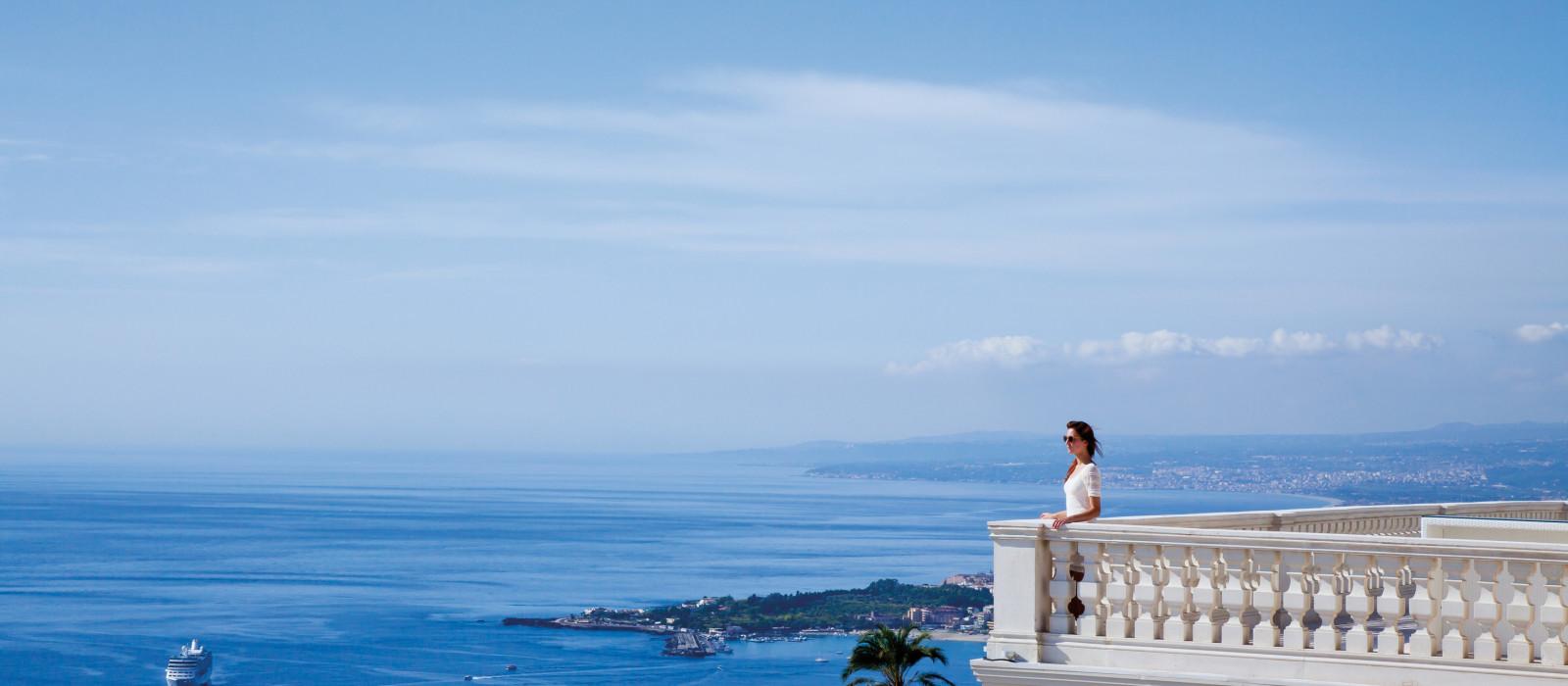 Hotel NH Collection Taormina Italien