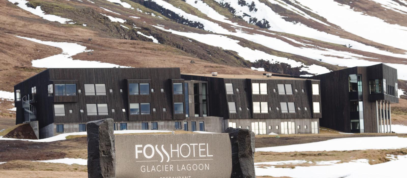 Hotel Foss Glacier Lagoon Island