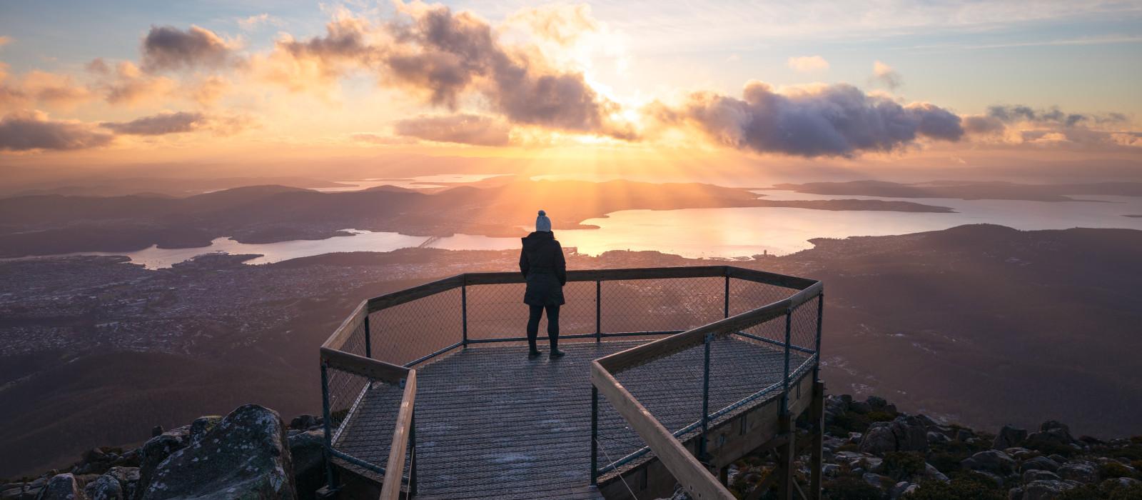Reiseziel Hobart Australien