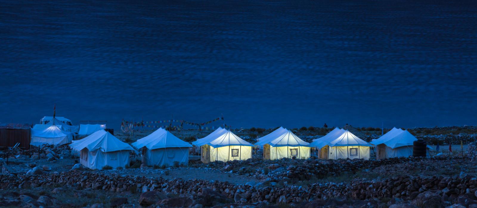 Hotel Pangong Resort -Tented Camp Himalaja