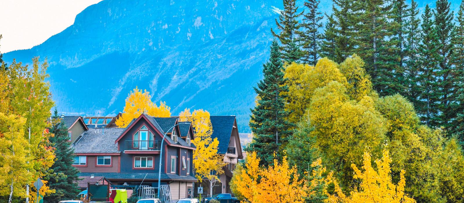 Reiseziel Canmore Kanada