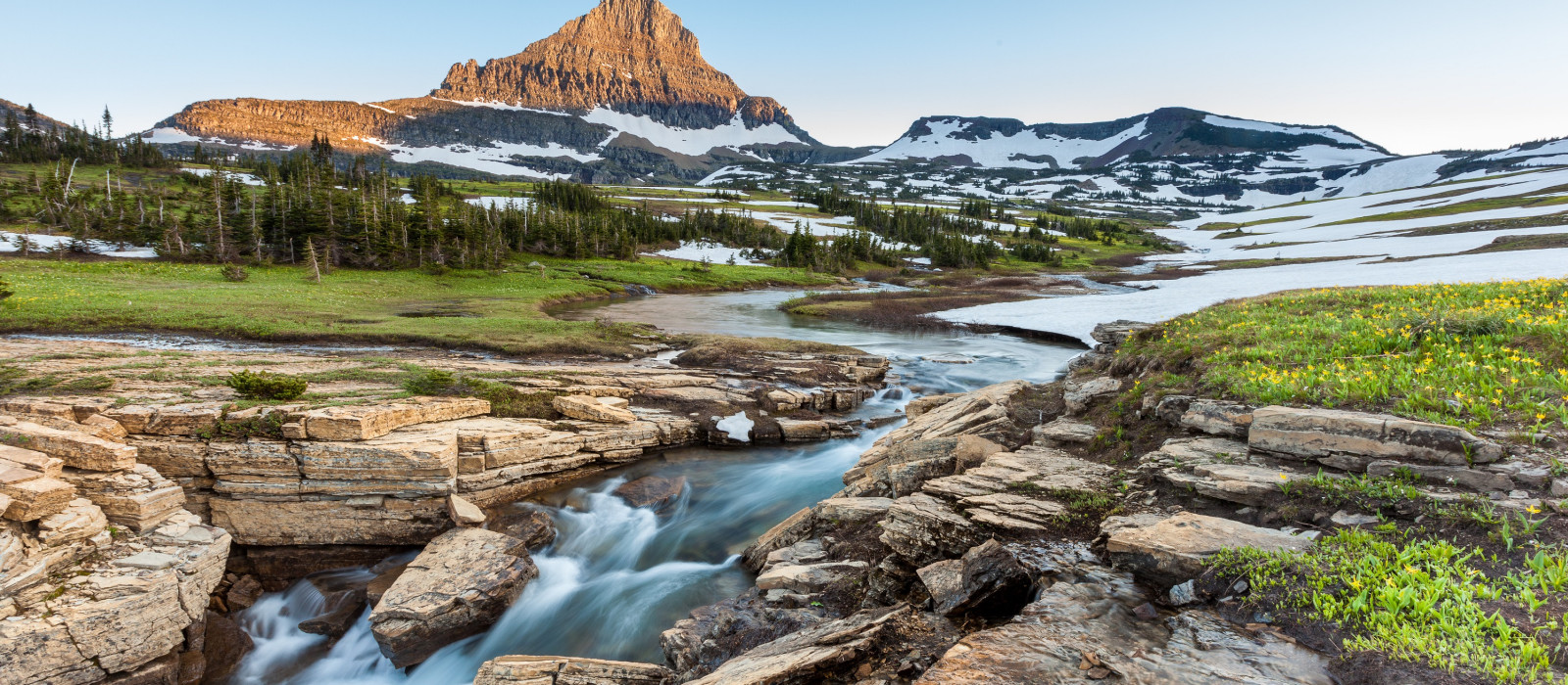 Destination Glacier National Park USA